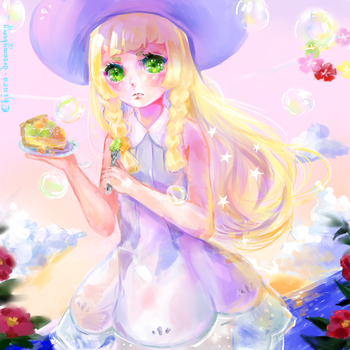 Lillie by Kia-chaaan