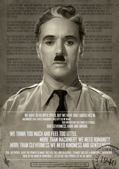 Charlie Chaplin - Let Us All Unite by WarrenLouw