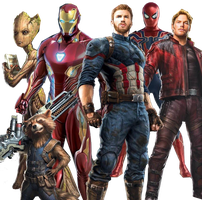 Avengers in Infinity War Transparent by ggreuz
