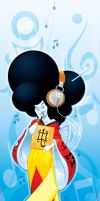 Radio Geisha by WarBrown