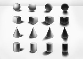 Back to Basics: Shading Basic Shapes by sjea