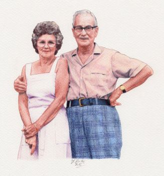 Mike-Parents by pixeleiderdown