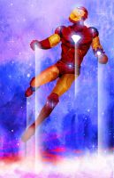 Iron Man Is In The Sky by skyscraper48
