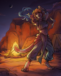 Desert Dancer by TheTiedTigress