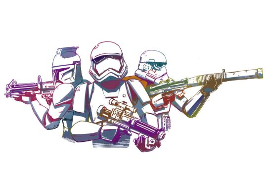 Stormtroopers Generations by PumaDriftCat