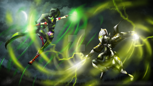 :AT: The Psychic and the Assassin Lord by MoonstalkerWerewolf