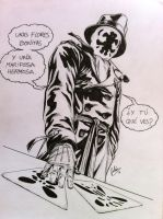 Commission: Rorschach by julianlopezart