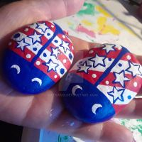 4th of July Lady Bugs by Batnamz