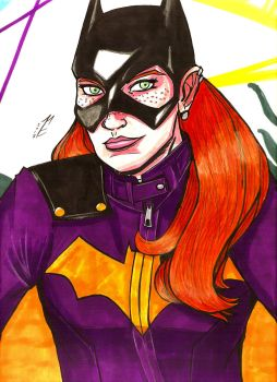 Daily DCU Day 293: Batgirl by Marcus-Pechan