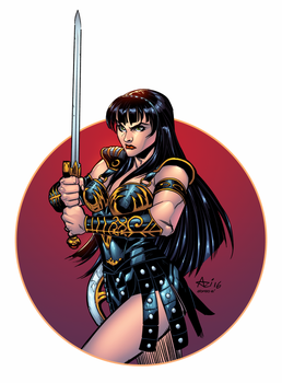 Xena by AlonsoEspinoza