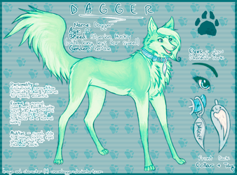 Dagger - Character Ref by xneondaggerx