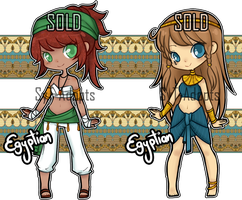 Egyptian Adopts : Closed (Set 6) by SyT-Adopts