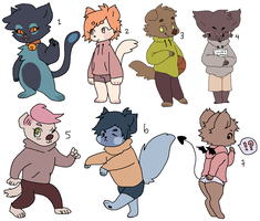 cheap furry adopts OPEN by ainkies