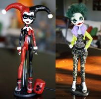 My first completed customs! by bunniculaaa