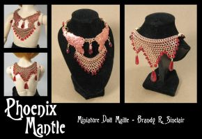 Phoenix Mantle - BJD Maille by crazed-fangirl