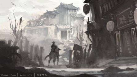 Abandoned Town by minifong