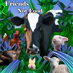 Friends not food. by IAmThatStrange