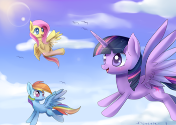 Wonderful things in the sky by Incinerater