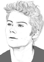 Dylan O'Brien by Golden-Plated