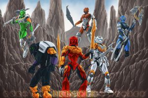 Bionicle 2015 by Ferain