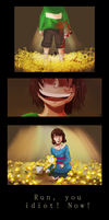 Undertale_Not this time (huge file) by Kaiserglanz