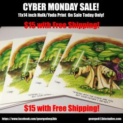 Cyber Monday Sale!! by 3DXStudios