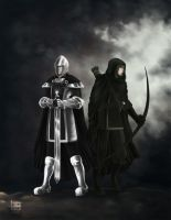 LOTR: Soldier and Ranger by AlaisL