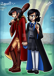 You and me in Hogwarts by Zeaott226