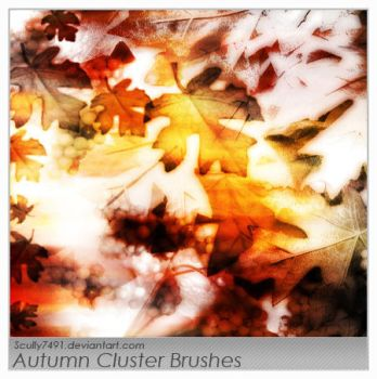 Autumn Cluster Brushes by Scully7491