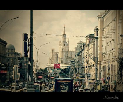 Moscow by Krapivka2007