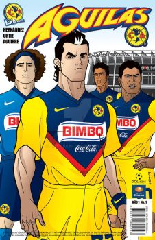 Cover AGUILAS Comic by julesjules