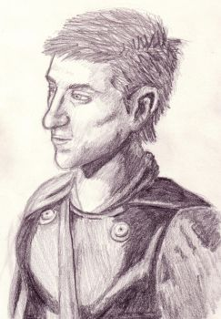 Rory the roman scetch by Littlenene