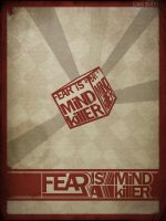 Fear is a Mind Killer by Toothpick-Guy