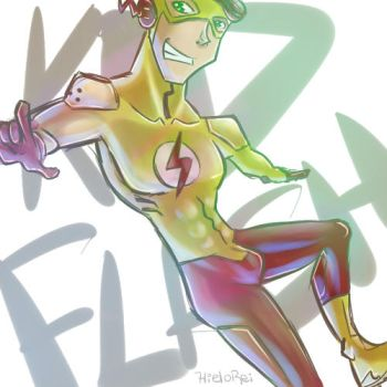 YJ - Kid Flash by hielorei