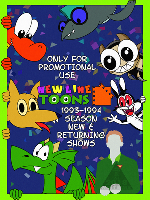 (RU) .:New Line Toons 1993 Press Release Cover:. by TheYoshiState