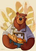 Ben, The Bear by AtaroLapin