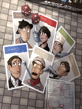 Who Killed Markiplier- The Board Game by starridge