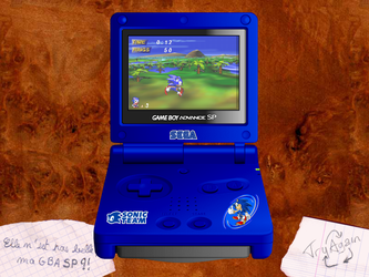 GBA Sonic Edition by tryagainprod
