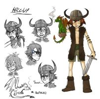 Hiccup book style by Detkef