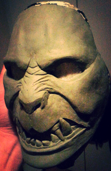 New Mask W.I.P 3 by foxdog77