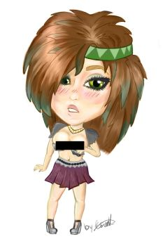 Hot Westernized Chibi (Safe) by TheArtLone