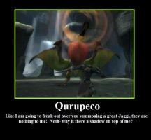 Qurupeco summoning by Hehlfire