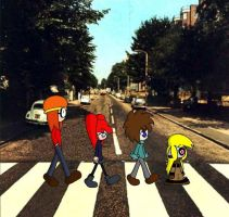 Crossing a Well Known Street by Blitzkrieg1701