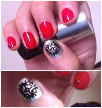 Feanorian Nails by QuantumPhysica
