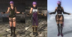 DoA5 Mods - Ayane Unarmed by Segadordelinks