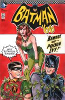 Batman 66 Poison Ivy Sketch Cover 2 by timshinn73