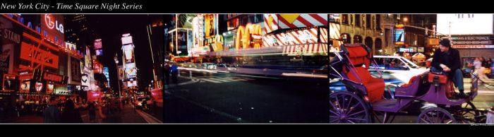 NYC - Time Square Night Series by prins