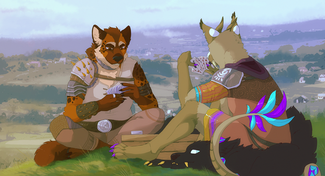 Card Play by jeanwoof