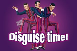 Robbie Rotten Disguise time by emillywood
