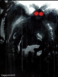 Mothman by Cageyshick05